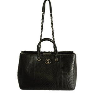 Chanel A93525 Large Coco Snakeskin Way Bag 197360